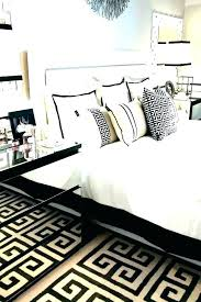 Black And White Bedroom Ideas Black White And Rose Gold Bedroom ...