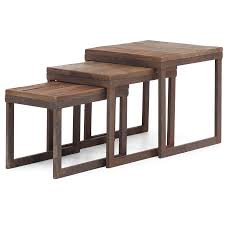 post modern wood furniture. zin home\u0027s new modern reclaimed wood furniture is inspired by the post industrial era. long and thick elm planks are fused together on top an antiqued s