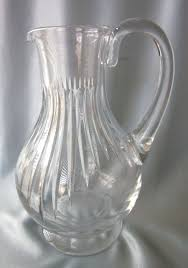 Decorative Water Pitchers FINAL CLEARANCE Vintage Baccarat Messena 606060 Crystal Water 24
