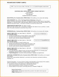 92 Resume Heading Examples Good Resumer Example