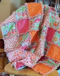 129 best Fabric & Yarn - Blankets/ Quilts images on Pinterest ... & Lydia's birthday rag quilt Adamdwight.com