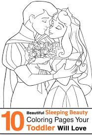 Small Picture Coloring Pages Sleeping Beauty Color Pages Princess Aurora With