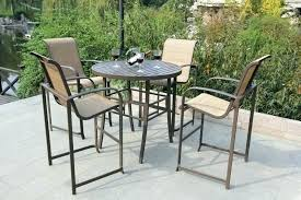 tall outdoor bar stools height table high bistro set patio and chairs