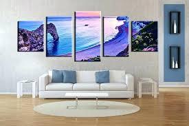 ocean canvas wall art purple and blue wall art 5 piece canvas wall art living room  on 2 pc canvas wall art with ocean canvas wall art 2 piece canvas wall art 2 piece wall art