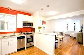 half wall ideas between kitchen and living room between kitchen and living room half wall divider