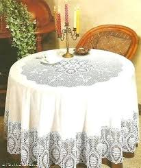 70 round vinyl tablecloth better home new crochet vinyl lace tablecloth round white 70 inch square 70 round vinyl tablecloth