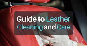 leather cleaning and care