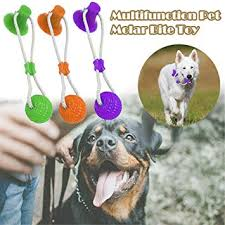 Hilyo Multifunction Pet Molar Bite Toy Dog Ropes Toy ... - Amazon.com