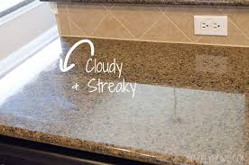 how to clean granite countertops with how to care for granite countertops as bamboo countertops