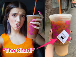 Pair any of their delicious (or nutritious) items did you know that we have lots of other fun food besides coffee and donuts? New Charli D Amelio Dunkin Donuts Drink Will Give You A Sugar High