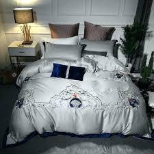 star duvet cover grey duvet covers luxury cotton mystical grey bedding set embroidery duvet cover set star duvet cover