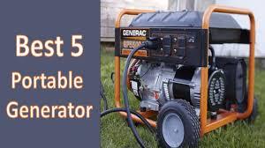 portable generators. Best 5 Portable Generators In 2017| Generator Reviews| Rated
