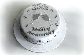 twenty fifth wedding anniversary gift ideas wedding anniversary gift ideas cake by year 25th wedding anniversary