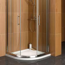 Cooke & Lewis Marina Quadrant Shower Tray (W)900mm (D)900mm | Departments |  DIY at B&Q