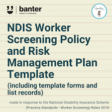 The national insurance scheme that provides services and supports for people with permanent, significant disabilities, and their families and carers. Ndis Worker Screening Policy And Risk Management Plan Template Banter Speech Language
