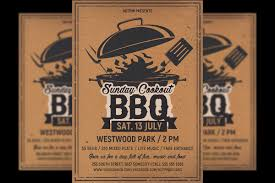 Barbecue Flyers Barbecue Bbq Flyer Template