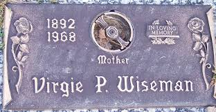 Virgie Priscilla Lucas Wiseman (1892-1968) - Find A Grave Memorial