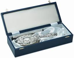 sterling silver gifts for las handmade dressing table set in embossed sterling silver
