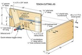 mortise and tenon jig for table saw. tenon cutting jig mortise and for table saw