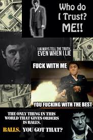 Scarface Quotes Collage Cont Scarface Scarface Quotes Movie