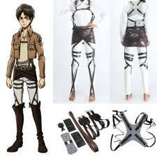 <b>Attack on Titan</b> Unisex Costumes for sale | eBay
