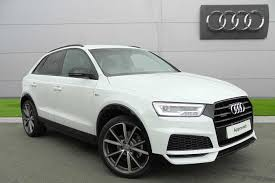 Used 2017 Audi Q3 Black Edition 2.0 TDI quattro 150 PS S tronic ...