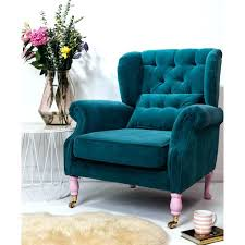 studded accent chairs chair blue pattern with ottoman light uphol