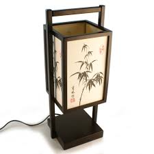 lamp black japanese shoji bamboo style table end rectangle shades design variants and images homesfeed lamps