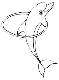 Cute Dolphin Coloring Pages Cute Dolphin Coloring Es Dolphins Free