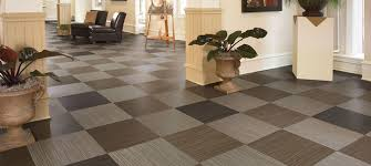 woven vinyl floor
