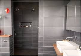 Grey Accents Tiles Wall Design In Tropichal Bedroom Themed Feat ...