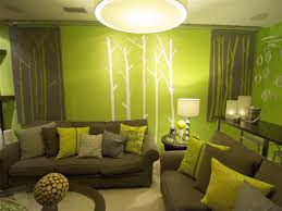 Lime Green Living Room Green Accent Wall In Living Room Best Living Room 2017