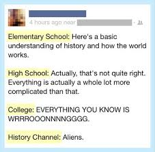 history of the world, funny twitter quotes - Dump A Day