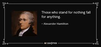 Alexander Hamilton Quote Summer's Blog Cool Alexander Hamilton Quotes