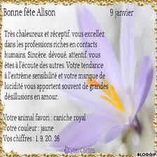 Signification Du Prénom Alison