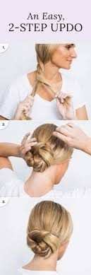 easy hairstyles for