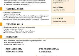 Resume Styles Examples And Resume Format For Job Takenosumi Com