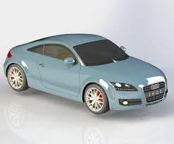 3D model Audi TT Coupe 2010 | CGTrader
