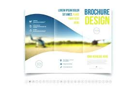 Fold Brochure Template Free Indesign 3 Fold Brochure