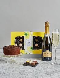 Happy Birthday Prosecco Cake Gift Box Ms