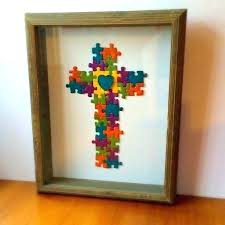 puzzle piece wall art best puzzle piece art images on puzzle pieces puzzle piece wall art  on jigsaw puzzle wall art with lovely inspiration ideas puzzle piece wall decor dad hallmark with