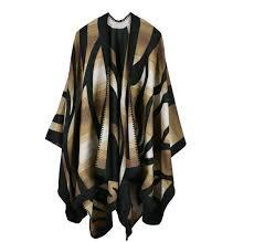 <b>2016 New Brand Women'S</b> Winter Poncho Vintage Blanket ...
