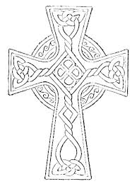 Cross Coloring Pages Printable On The Page Easter Shopifytips