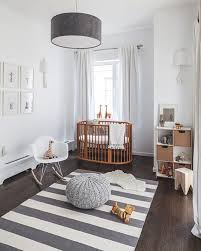 Nautical Round Baby Nursery Rug Shaped Hanging Decoration Carpet Strips  Grey White Furniture Wooden