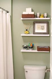 floating shelves above toilet over ideas