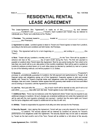 These house rental agreement sample templates are available mostly in pdf and microsoft word format. Free Rental Lease Agreement Forms Word Pdf Templates