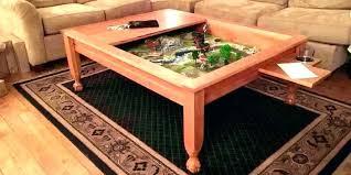 diy arcade coffee table board game cabinet