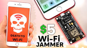 the illegal 5 wifi jammer for iphone android
