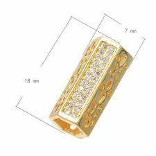 <b>Three Colour</b> Jewelry Componts Hexagon Micro Inserts Elbow ...