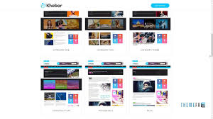 Newspaper Html Template Khobor Modern Magazine And Newspaper Html Template Baghdasar Youtube